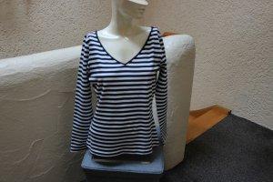 Stripe Shirt black-white cotton