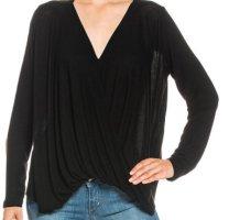 Vila Clothes Cache-coeur noir polyester