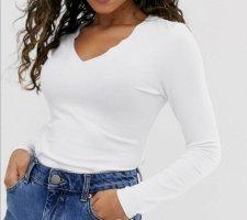 Asos V-hals shirt wit
