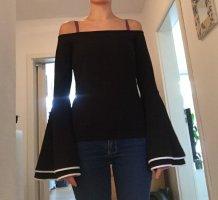 Bodyflirt Long Sweater black-white
