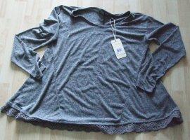 Langarmshirt von Fresh made - Gr. S - grau