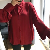 Lange Bluse aus Viskose