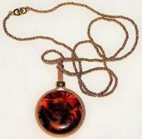 Christian Dior Naszyjnik piaskowy brąz-brązowy