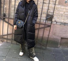 Asos Manteau en duvet noir