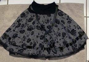 Balonowa spódniczka czarny-biały