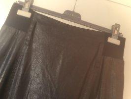 Marc Aurel Faux Leather Skirt black