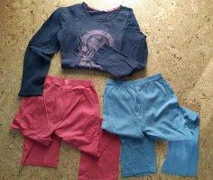 Esprit Pantalon pattes d'éléphant multicolore