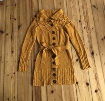 Vero Moda Gebreide jas licht Oranje-goud Oranje