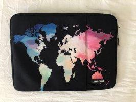 Laptop bag multicolored