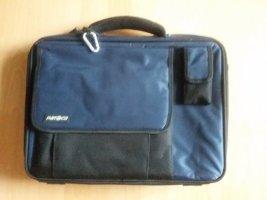 Laptop bag black-blue