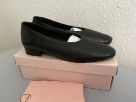 La Shoe Ballerina Mary Jane nero