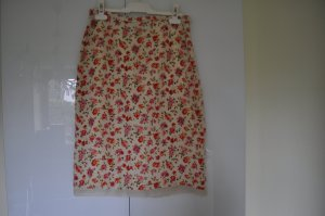 Laura Ashley Jupe en soie multicolore soie