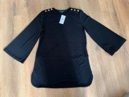 Lauren by Ralph Lauren Shirt Bluse Ärmel M 38 gold Knöpfe neu Etikett
