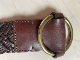 Lauren by Ralph Lauren Leather Belt dark brown