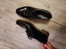 Lavorazione Artigiana Pantofel czarny