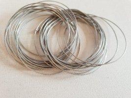 lbvyr Braccialetto sottile argento