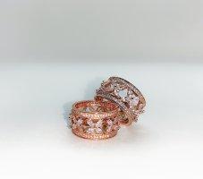 Gouden ring roségoud-wit