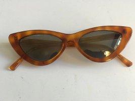 Le Specs Vierkante bril brons