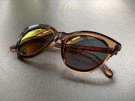 Le Specs Okulary motylki Wielokolorowy