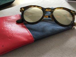 Le Specs Occhiale da sole rotondo multicolore Materiale sintetico