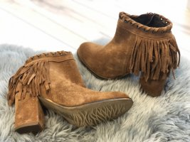 Leather Boots Tabac