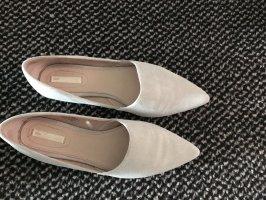 Leder ballerinas H&M