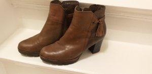 Leder Boots 38,5