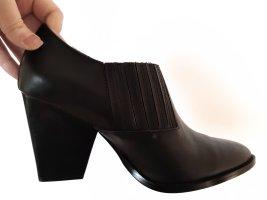 Leder Boots Stiefelette Neu