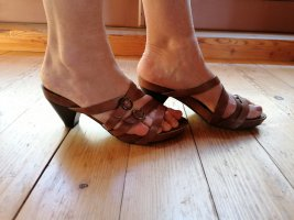 Wojas Socque brun-cognac