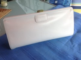 Marc Picard Clutch white leather
