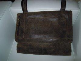 Leder Cross Body Bag / Umhänge Tasche, von VOI - vintage-brown