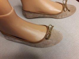 Leder Damenschuhe, Ballerina, Halbschuhe, Sneaker, Größe 41 42 beige breite Füße weite Schuhe