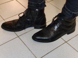 Leder desert boots