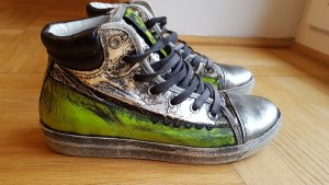 Leder Felmini Sneakers