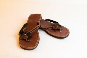 Leder-Flip-Flops