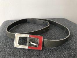 Mango Leather Belt multicolored