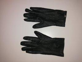 I am Gevoerde handschoenen donkerbruin