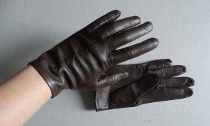 Vintage Rękawiczki z imitacji skóry Wielokolorowy Skóra