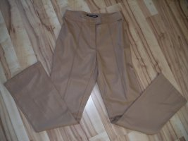 Tom Tailor Faux Leather Trousers light brown