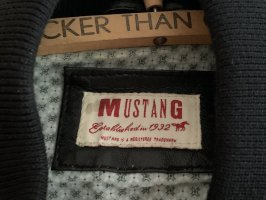 Mustang Chaqueta de cuero negro