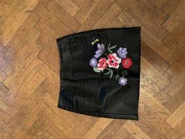 H&M Leren rok veelkleurig