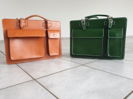 Briefcase orange-green