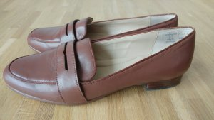 Lands' End Chaussure Oxford marron clair