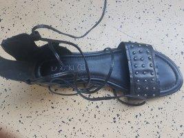 Lasocki Sandalo romano nero