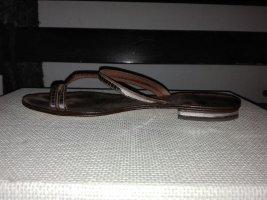 Flip flop sandalen zilver
