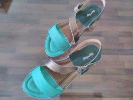 Flip*flop Sandalo comodo multicolore Pelle