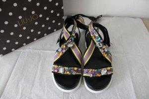 Liu jo Romeinse sandalen veelkleurig