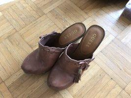 Guess Sandalo con tacco marrone chiaro-marrone