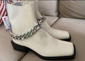 Leder Schuhe (weiß )