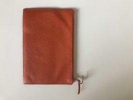 Hermès Custodie portacarte arancione-rosso scuro